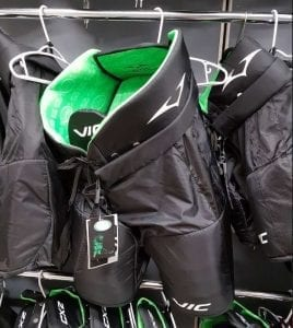 Vic Hockey Equipment with Ultra-Fresh Antimicrobial Technology