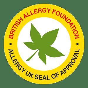 Ultra-Fresh Allergy UK Seal of Approval
