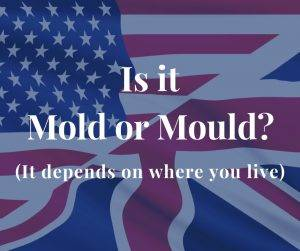 Mold or Mould? It depends on where you live.