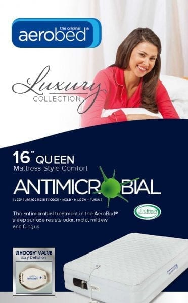 aerobed with Ultra-Fresh antimicrobial technology