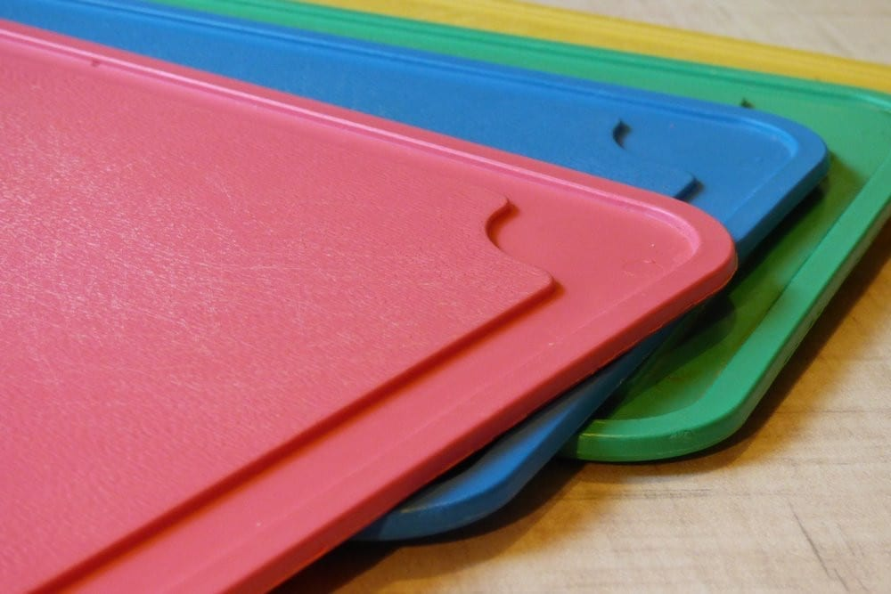 Using multiple cutting boards